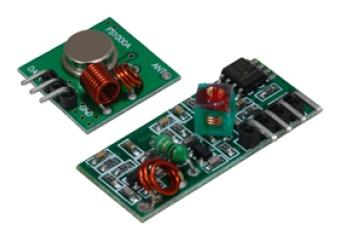 Rf Transmitter And Receiver Module Kit 433 Mhz Haitronic